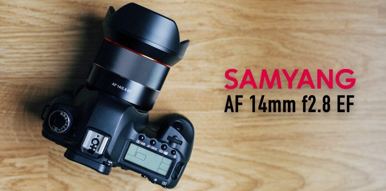 Objetivo Samyang AF 14mm f/2.8 EF