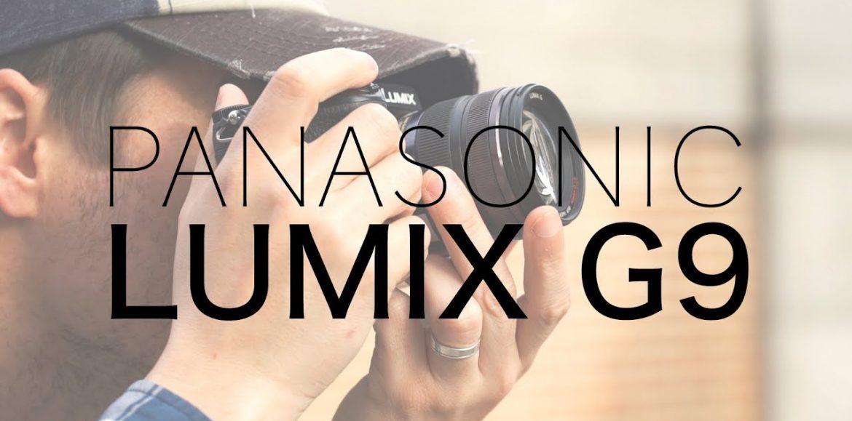 Cámara Panasonic Lumix G9