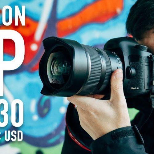 Uno de los mejores objetivos angulares del mercado – Tamron SP 15-30 2.8 Di VC USD