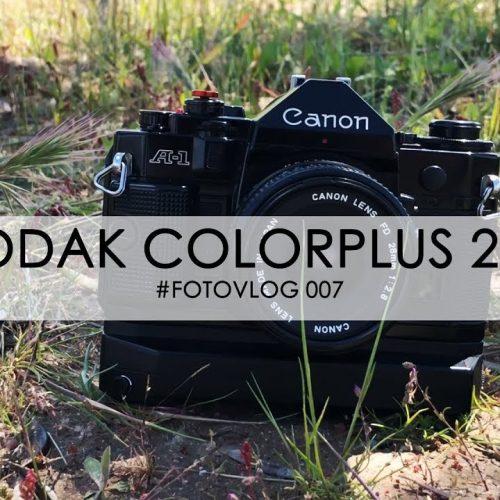 Kodak Colorplus 200 + Canon A1 – #Fotovlog 07