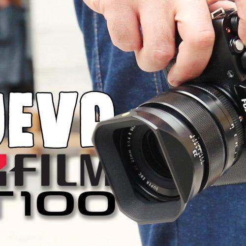 Cámara Fujifilm X-T100 – Toma de contacto