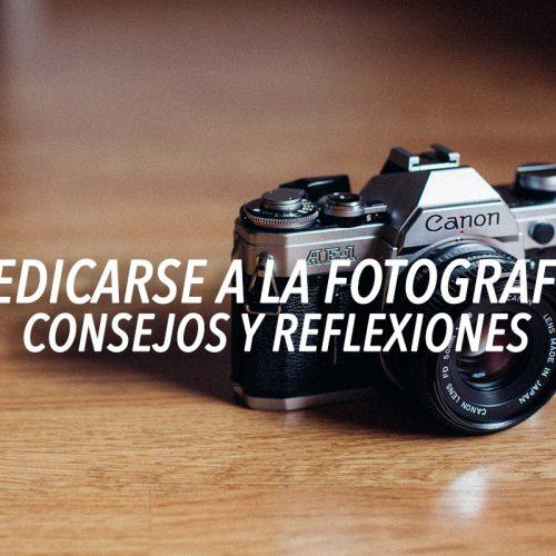 Primeros pasos como fotógrafo