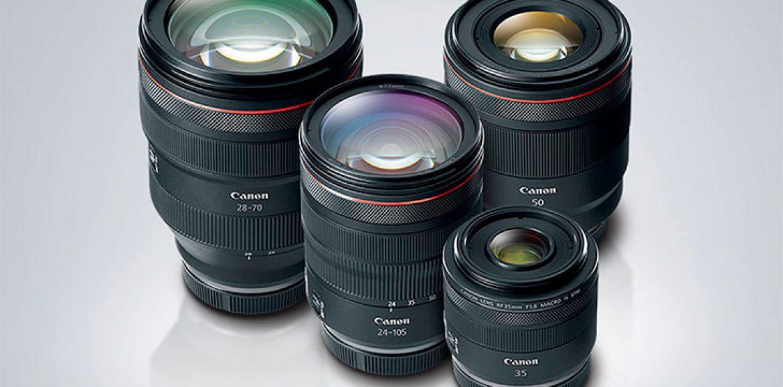 Próximas lentes RF para la Canon EOS R