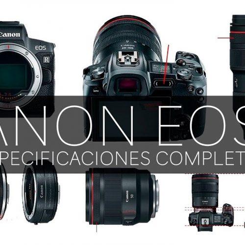 Canon EOS R – Especificaciones completas