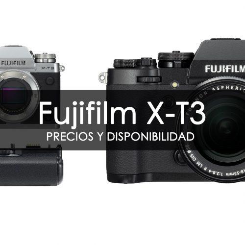 Fujifilm X-T3 – Precio y disponibilidad