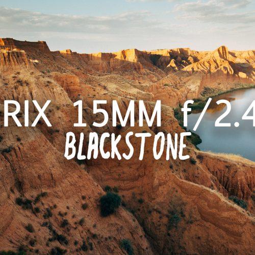 Objetivo Irix 15mm f2.4 Blackstone el angular diseñado para fotógrafos