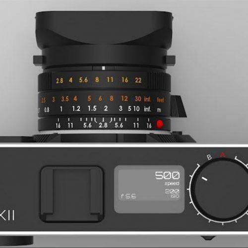 Cámara Pixii con montura M de Leica