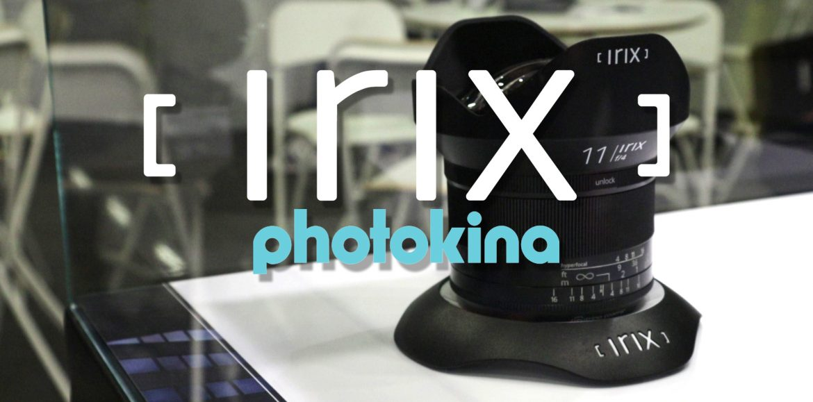 Irix Dragonfly 150mm f2.8 en Photokina