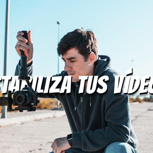 Moza Aircross o como estabilizar tus vídeos