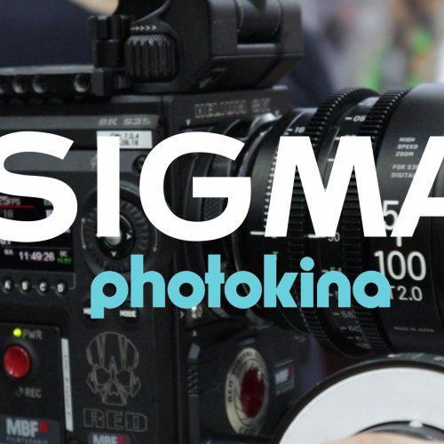 Novedades de Sigma en Photokina 18