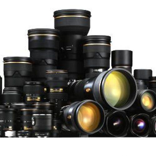 Nikon hace limpieza de lentes DX