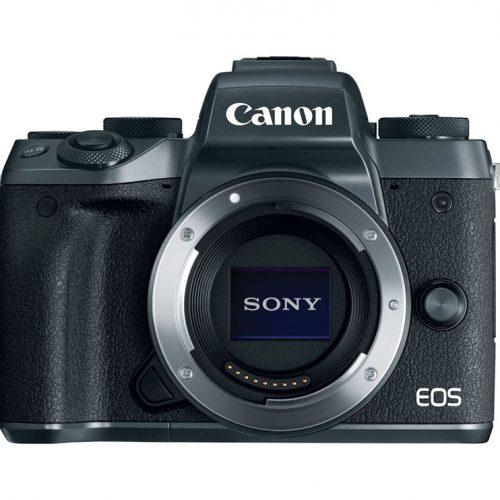 Cámaras Canon con sensor Sony