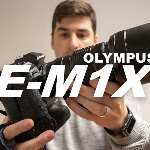 Así es la nueva Olympus O-MD E-M1X
