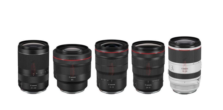Canon anunciara 5 nuevos objetivos RF