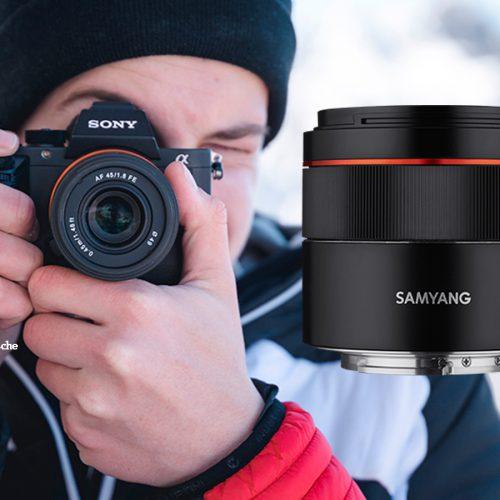 Samyang 45mm 1.8 para Sony E