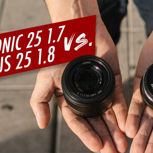 Olympus 25mm f1.8 vs Panasonic 25mm 1.7