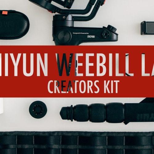 Zhiyun WeeBill LAB – Accesorios y montaje