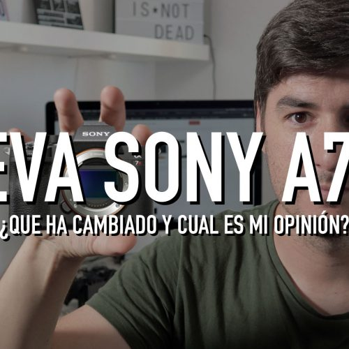 Nueva cámara Sony A7RIV