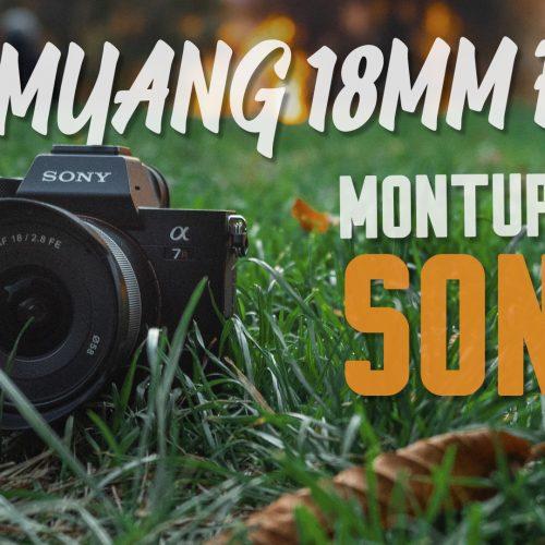 Samyang AF 18mm f2.8 FE para montura E de Sony