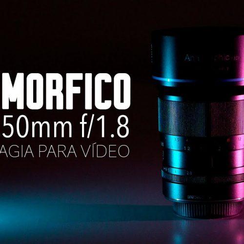 Sirui 50mm f1.8 Anamórfico