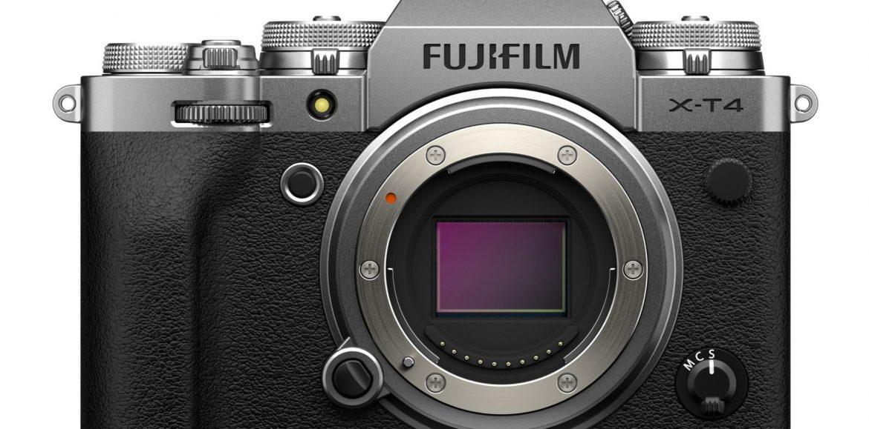 Así es la nueva Fujifilm X-T4 (actualizado)