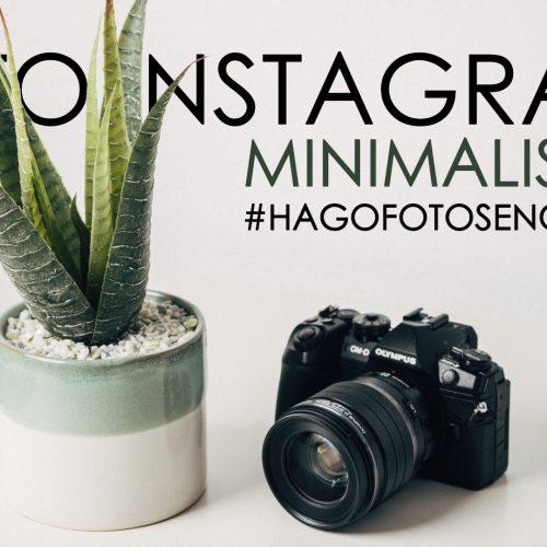 Reto encierro COVID19 en Instagram – Minimalista