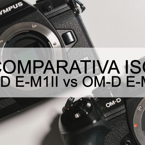Olympus M1II vs M1III – Comparativa ISO altos